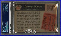 1955 Bowman Mickey Mantle Psa 6- Great Color, Centering