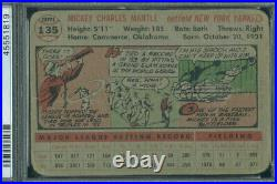 1956 Topps 135 GB Mickey Mantle PSA 1mk (1819)