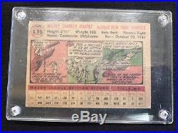 1956 Topps Mickey Mantle New York Yankees #135 Baseball Card