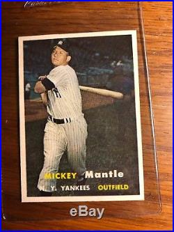 1957 Topps Mickey Mantle 95