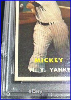 1957 Topps Mickey Mantle #95 PSA 8 NM-MT! GREAT PRICE! NICE CARD