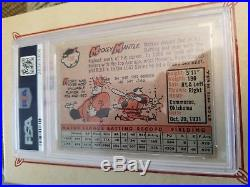 1958 Topps Mickey Mantle #150 Psa 5