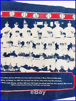 1960 New York Yankees World Series Pennant Mantle Maris Berra Shantz Ford