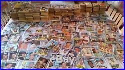 1960s baseball card lot, 5,000+/- cards, 20+ Mantle cards, HOF stars, graded sta