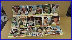 1961 Topps Baseball Complete Set (587) Mantle, Maris, Mays, Aaron, RC's & Stars
