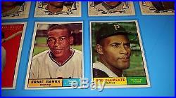 1961 Topps Baseball Complete Set // Nice Set // Mantle Mays Aaron Tough Set