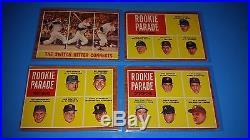 1962 Topps Baseball Complete Set 598/598 Good-vg Mantle Aaron Clemente Brock Rc