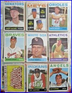1964 Topps Baseball Complete Set Nrmt Mantle Rose Overall Solid Ex- Nice