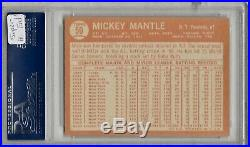 1964 Topps Mickey Mantle #50 Psa 8 Super High End Card Worthy Of A Higher Grade
