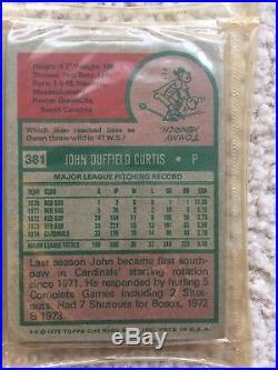 1975 Topps Baseball Unopened Cello Rack Packs Rak Paks Ryan. Brett Rc Rs27
