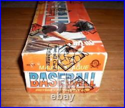 1976 Opc Baseball (48-packs) Unopened Full Wax Box-(bbce-sealed) Clean, Tough Box