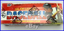 1976 Topps Baseball Unopened Wax Box BBCE Guidry Eckersley Rookie