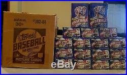 1984 Topps Baseball Wax Box 36 Sealed Packs Mint Unopened BBCE Authentic