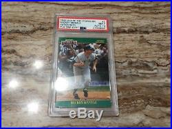 1992 Score Mickey Mantle #2 Baseball Card autograph psa 7 auto 10