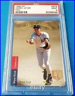 1993 Derek Jeter SP FOIL PSA 9 MINT New York Yankees Rookie card