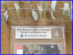 1993 SP DEREK JETER FOIL #279 ROOKIE RC YANKEES BGS 9 with 9.5 GEM MINT = PSA