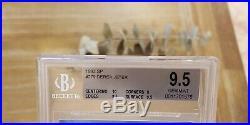 1993 SP DEREK JETER FOIL ROOKIE GEM MINT BGS 9.5 With PRISTINE 10 = PSA 10