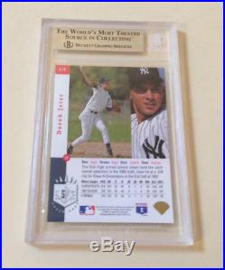1993 SP DEREK JETER RC #279 BGS 9 MINT NY Yankees Rookie (two 9.5 subs)