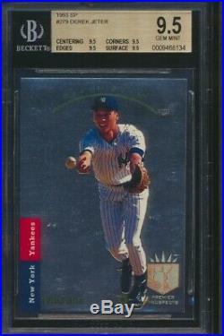 1993 SP DEREK JETER Rookie New York Yankees BGS 9.5 All 9.5 subs