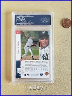 1993 SP Derek Jeter (#279) FOIL ROOKIE New York Yankees PSA 9