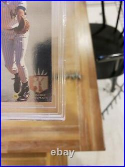 1993 SP FOIL DEREK JETER #279 ROOKIE CARD BECKETT BGS 8 with GEM MINT 9.5 + 9