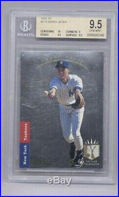 1993 SP Foil #279 Derek Jeter New York Yankees RC Rookie BGS 9.5 with 10 CENTERING