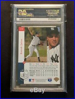 1993 SP Foil #279 Derek Jeter New York Yankees RC Rookie PSA 7.5 NM+ High End