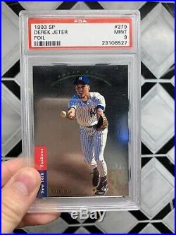 1993 SP Foil #279 Derek Jeter New York Yankees RC Rookie PSA 9 PRISTINE