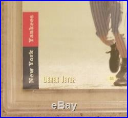 1993 SP Foil Derek Jeter RC #279 PSA 9 MINT Rookie Beautiful