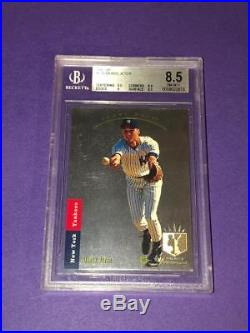 1993 SP Foil Derek Jeter ROOKIE RC #279 BGS 8.5 NM-MT+ with 9 & 9.5 STRONG GRADE