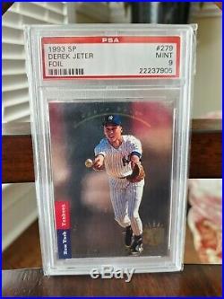 1993 SP Foil Derek Jeter ROOKIE RC #279 PSA 9 MINT