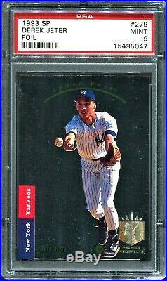 1993 Sp #279 Derek Jeter Rookie Rc Psa 9 Mint Hof Yankees