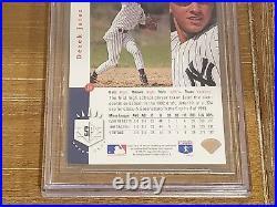 1993 Sp Derek Jeter #279 Foil Rookie Rc True Mint Bgs 9 (9, 9, 9, 9) = Psa