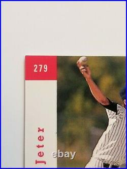 1993 Sp Derek Jeter #279 Rookie Card Rc Ready For Psa Bgs Grading Beautiful Card