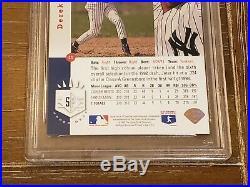 1993 Sp Derek Jeter Foil #279 Rookie Rc Card Yankees Nm Mint Psa 8