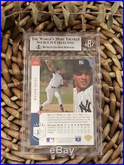 1993 Sp Derek Jeter Foil #279 Rookie Rc Yankees Mint Bgs 9 Beckett = Psa