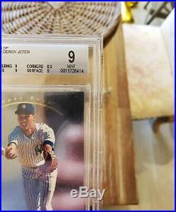 1993 Sp Derek Jeter Foil #279 Rookie Rc Yankees Mint Bgs 9 = Psa