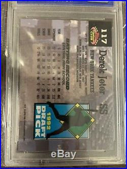 1993 Stadium Club Murphy #117 Derek Jeter New York Yankees RC Rookie PSA 9 SP