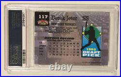 1993 Topps Stadium Club Murphy DEREK JETER PSA 10 Rookie Baseball Card RC HOF