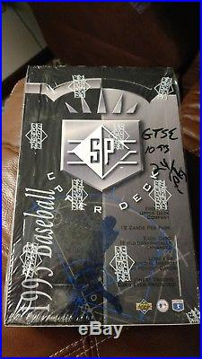 1993 Upper Deck Baseball SP Factory Sealed 93 Hobby Box