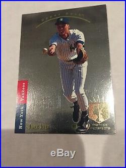 1993 Upper Deck SP Derek Jeter Premier Prospects Yankees Foil Rookie Card RC