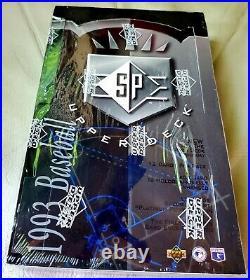 1993 Upper Deck SP Factory Sealed Hobby Box Possible Derek Jeter Foil Rookie