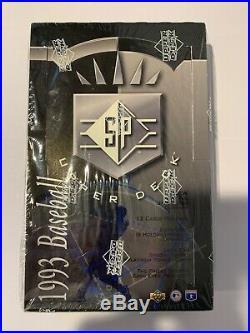 1993 Upper Deck SP Foil Baseball Factory Sealed Unopened Box Derek Jeter RC