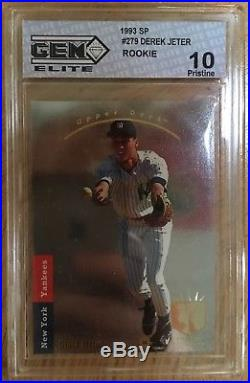 1993 Upper Deck Sp Derek Jeter Rookie Gem Mint 10! Pristine