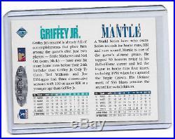 1994 Upper Deck Mickey Mantle AUTO autograph /Ken Griffey Jr