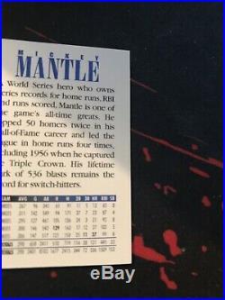 1994 Upper Deck Mickey Mantle Ken Griffey Jr Dual Autograph Auto