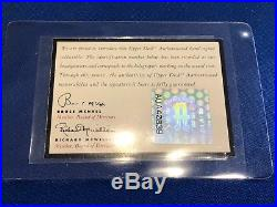 1994 Upper Deck Mickey Mantle Ken Griffey Jr. Dual Autograph BGS 8.5 Auto 10