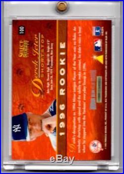 1996 Select Certified MIRROR BLUE Derek Jeter ROOKIE RC /45 #100. PSA READY