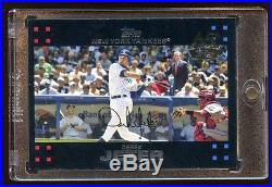 1/1 DEREK JETER With MICKEY MANTLE & GEORGE BUSH TOPPS MOST FAMOUS ERROR CARD 1/1