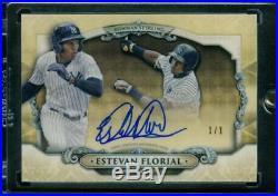 1/1 Estevan Florial 2018 Bowman Chrome SuperFractor Rookie Autograph RC Yankees